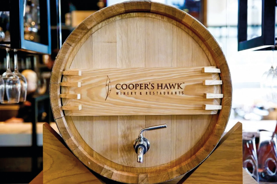 Cooper`s Hawk, a Starbucks do vinho